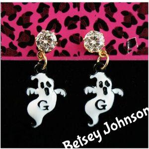 Betsey Johnson Boo Ghost Earrings